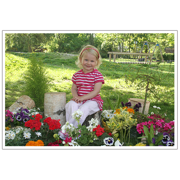 Außen mit Blumen 5