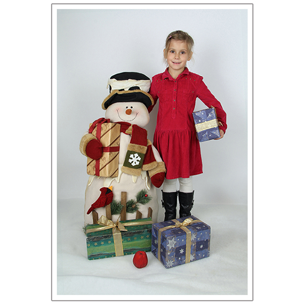 Weihnachten mit Schneemann 1