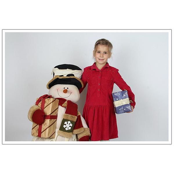 Weihnachten mit Schneemann 4